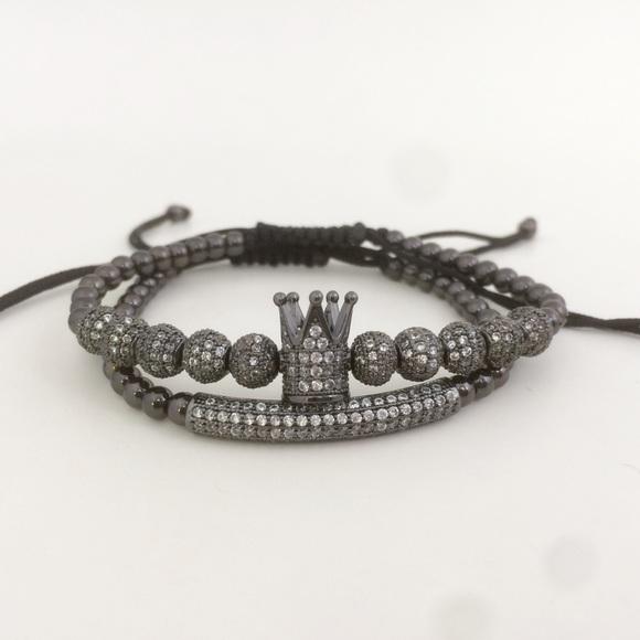 Luxury PVC Plated Bracelets